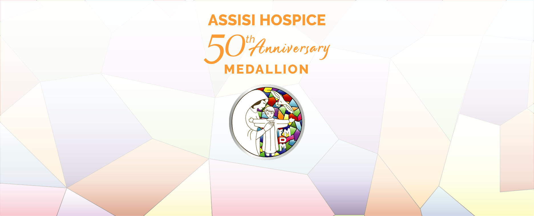 Assisi's 50th Anniversary Medallion